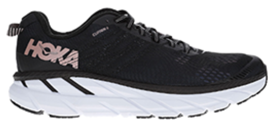 Scarpe runner HOKA ONE ONE CLIFTON 6 W nero Donna