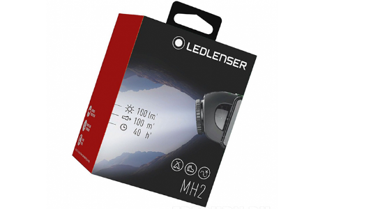 Accessori runner LED LENSER MH2 nero Unisex