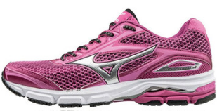 Scarpe runner MIZUNO WAVE LEGEND 4 W Porpora Donna