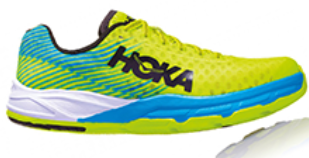 Scarpe runner HOKA ONE ONE EVO CARBON ROCKET Giallo Unisex