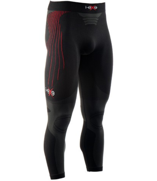 Abbigliamento runner I-EXE HIGT PERFORMANCE LONG PANTS nero Unisex