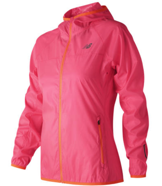 Abbigliamento runner NEW BALANCE WINDCHEATER JACKET W rosa Donna